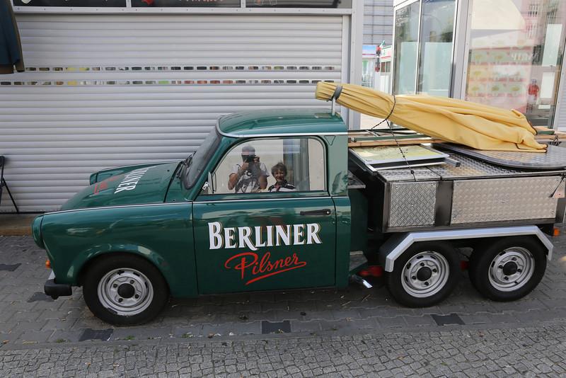 Sixweeler pickuptruck version of the famous Trabant...