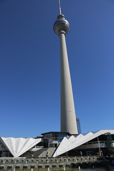 The old 'Funkturm' from the old DDR era...
