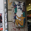 Berlin Wall segments can be fould at many locations in Berlin...