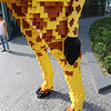 A HUGE giraffe, made out of LEGO!!!
