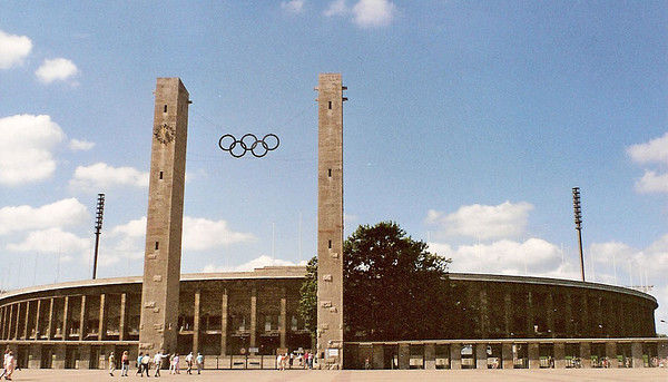Olympic Stadium - East Berlin September 1990 4 SM