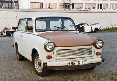 Berlin Trabant September 1990 SM