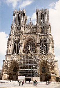 Reims Cathedral, September 1990 6 SM