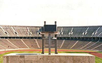 Olympic Stadium - East Berlin September 1990 9 SM