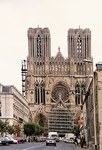 Reims Cathedral, September 1990 7 SM
