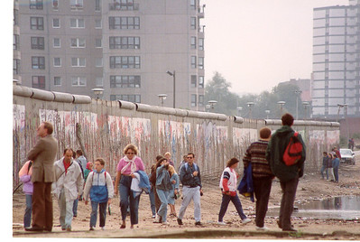 Berlin Wall September 1990 SM