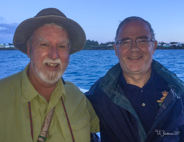 Govenor of Bermuda John Rankin and TAB