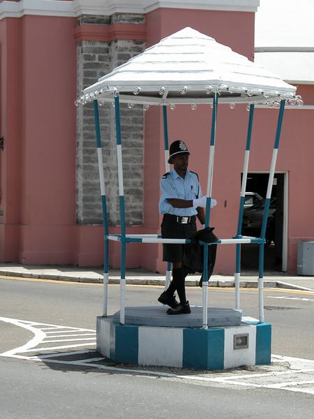 Traffic Cop - Bermuda