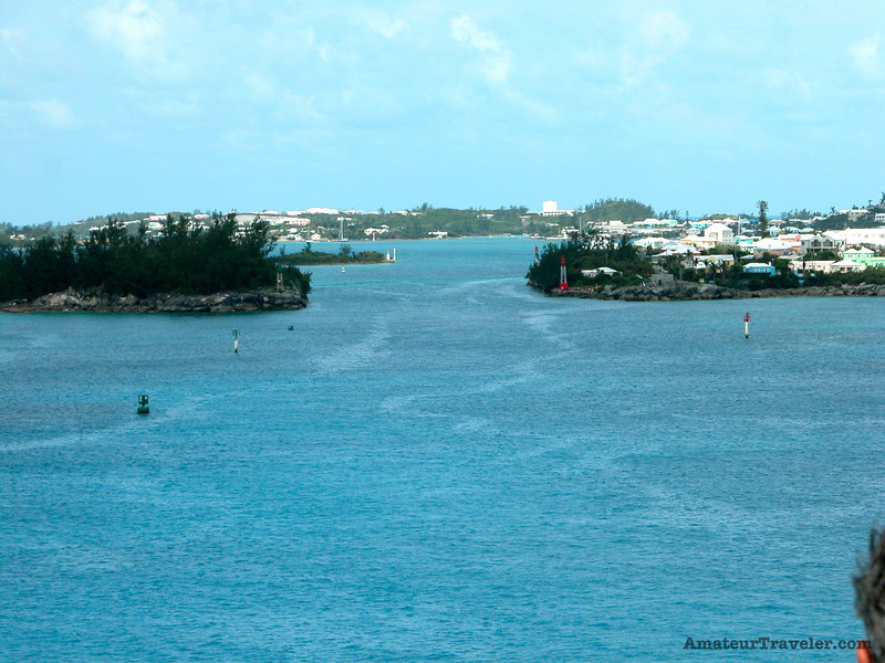 entrance to St George Harbor