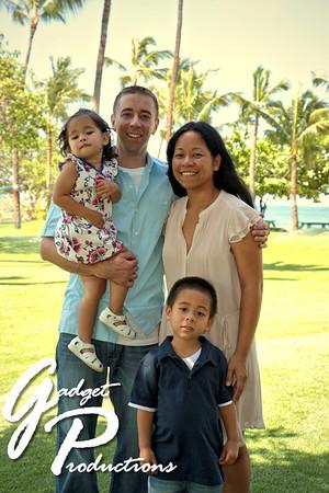 Bernard Family Portraits