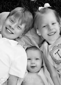 Kids Close Up BW-