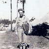 Bert, 1942, at boot camp in central louisiana
