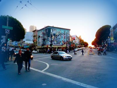 Beat generation byla uzavřená skupina spisovatelů, kteří žili bohémským způsobem života. Mezi veliká jména této doby patří Ken Kessey, Jack Kerouac, Allen Ginberg, kteří měli v San Francisku jeden ze svých domovů. Básník Lawrence Ferlinghetti založil v 50. letech  na ulici Columbus Avenue v North beach své knihkupectví City Lights. Beatnický ráj, který se tam nachází dodnes. K Haight Ashbury neodmyslitelně patří také květinové děti, tedy hnutí hippie, které se stalo symbolem 60. let pro tuto Sanfranciskou čtvrť. Z některých beatniků se začali vyvíjet hippie. V tomto bodě se tyto dvě skupiny lidí rozdělují: Zatímco hippíci pokládají beatnickou generaci za své modly, čerpají z jejich myšlenek, v dílech nacházejí inspiraci… Beat generation neuznává hippies, odsuzuje jejich ideály, opovrhuje jimi.