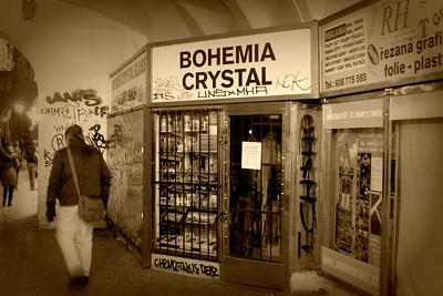 Bohém je člověk, který žije netradičním (nekonformním) životním stylem, často je to umělec – malíř, sochař, hudebník či herec. Slovo bohém se začalo používat ve Francii v 19. století, kdy se mladí umělci začali masově stěhovat do sousedství Romů (francouzsky: Bohémiens), o kterých se ve Francii tvrdilo, že přišli z Bohemie, tedy z Čech.
