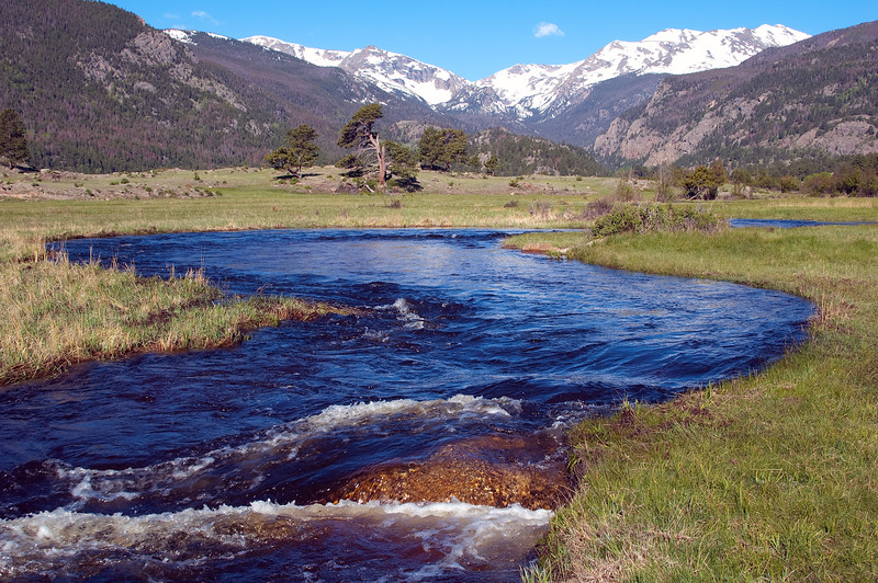 Rocky Mtn National Park and Stream PS Edit