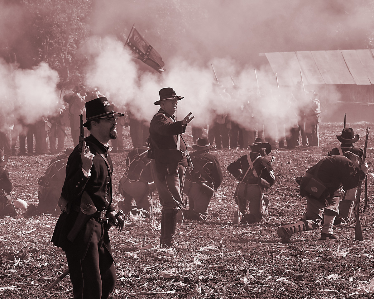 Annual Civil War Re-enactment, Moorpark CA