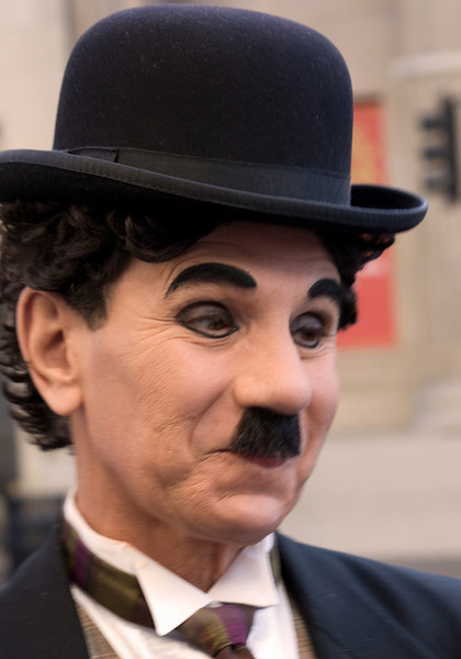 Charlie Chaplin lives!.