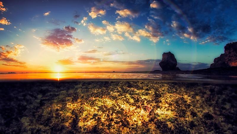 Uluwatu Tide Pool Sunset