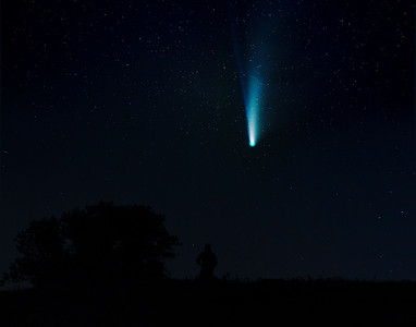 Neowise comet at Forthill