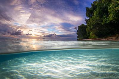 Pig Island Sunrise