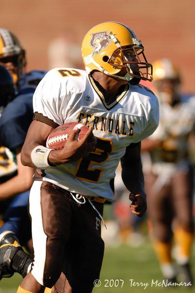 Ferndale @ Crandbrook<br /> High School Football<br /> 2007