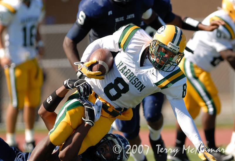 Farmington Hills Harrison @ Southfield<br /> High School Football<br /> 2007