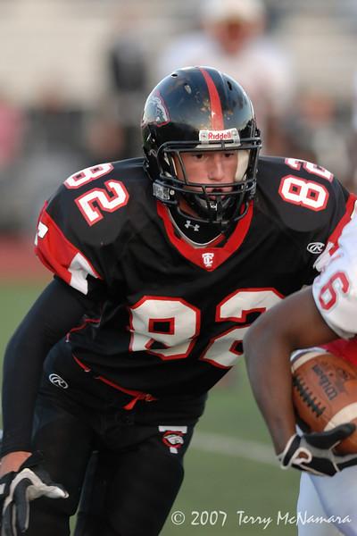 Pontiac Northern @ Troy High School<br /> High School Football<br /> 2007