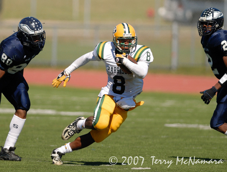 Farmington Hills Harrison @ Southfield<br /> High School Football<br /> 2007