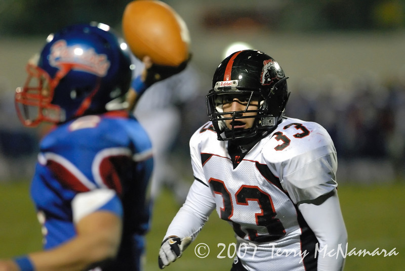 Troy @ Warren Cousino<br /> High School Football<br /> 2007
