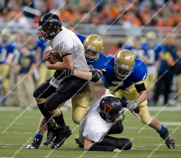 Traverse City St. Francis vs. Ubly<br /> Boy's High School Football<br /> 2008 MHSAA Division 7 Finals