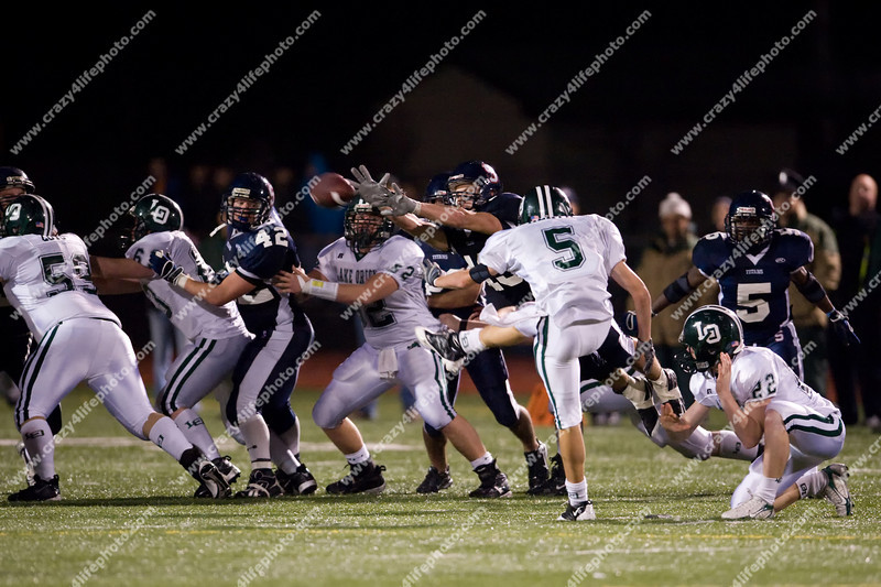 Lake Orion vs. Sterling Heights Stevenson<br /> Boy's High School Football<br /> 2008 MHSAA Regional Finals
