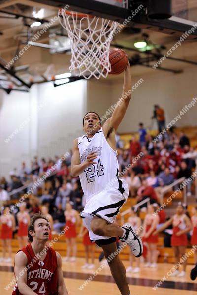 Troy Athens vs. Troy High<br /> High School Boys Basketball<br /> 2008