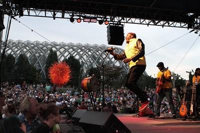 Jimmy Cliff at the Denver Botanic Gardens, 7/28/14