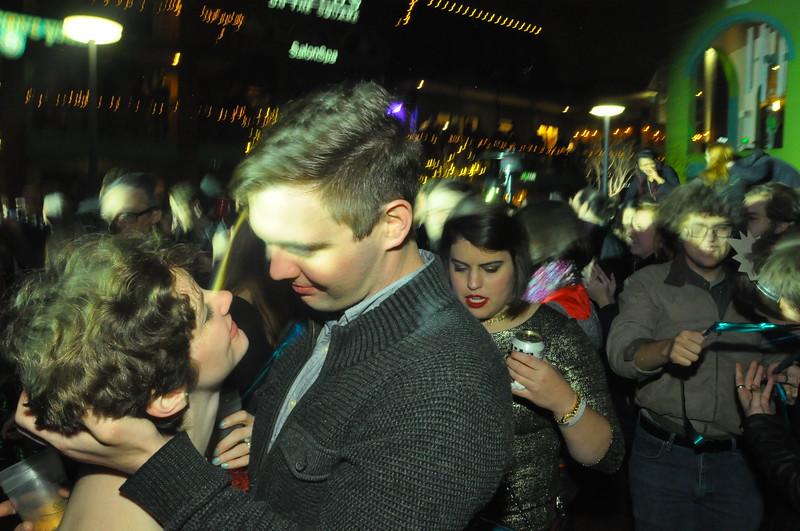 Happy New Year. Overton Square. Memphis.