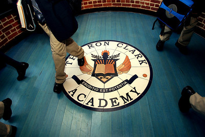 Ron Clark Academy offer 80 middle school children a private education in one of Atlanta's poorest neighborhoods.  (AP Photo / Jenni Girtman)
