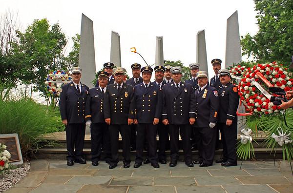 Hackensack Fire Memorial Services 7-1-13