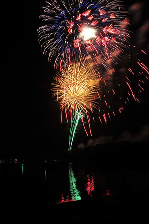 Portage Lakes Fireworks