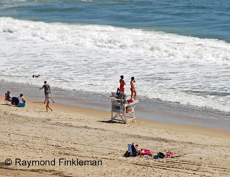 Bethany Beach lifeguards on duty.