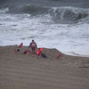Bethany Beach Patrol during storm.