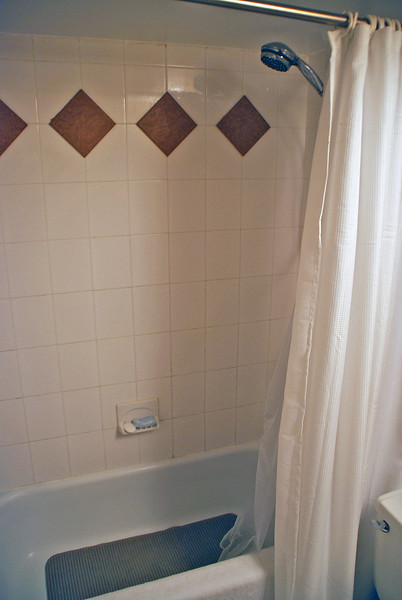 Hallway bath.
