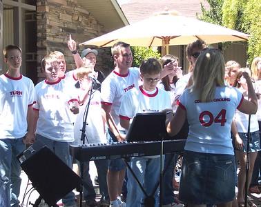 Bethel Outdoor Worship on June 13, 2004