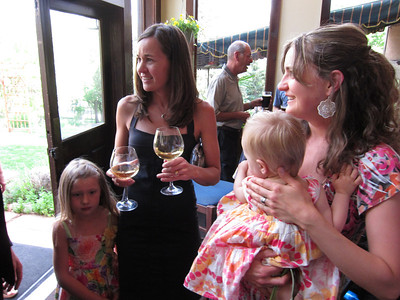 Talented big sisters: Jessica and Sarah - cousins to Kelly.