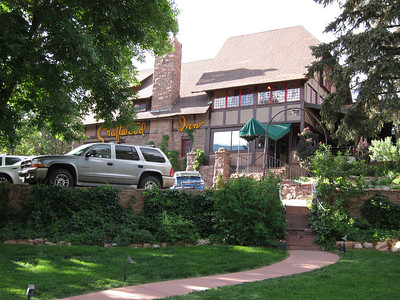 The Craftwood Inn in Manitou Springs, CO - time for the Rehearsal Dinner.