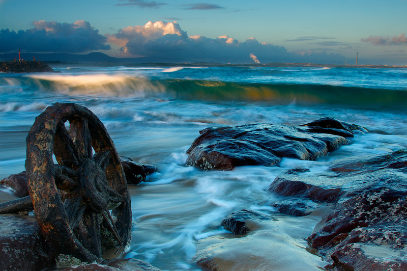 Windang Beach, North Wollongong.