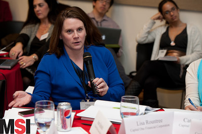 Lisa Rountree, VP brand marketing, Capital One Financial Corporation. Photo Credit: Steve Castillo