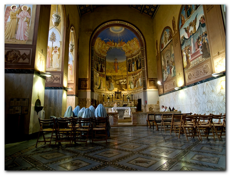 the Church of the Visitation, Ein kerem, jerusalem.