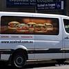 Sandwich van seen in Coogee Beach, Sydney, NSW in November 2017. xcelroll,com,au