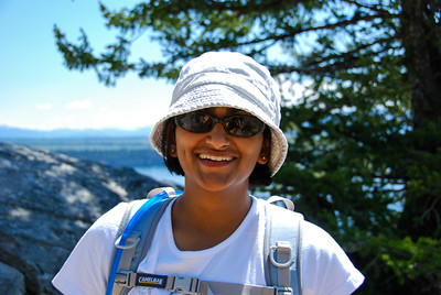 Bhumisha at Inspiration Point