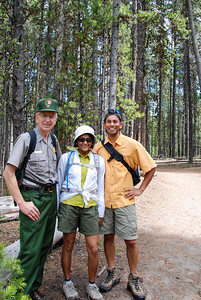 Bhumisha and me with our guide