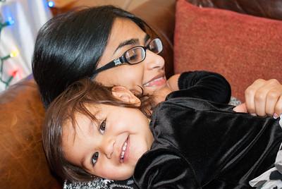 Riya and Bhumisha